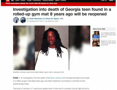Kendrick Johnson case reopened 3-9-2021