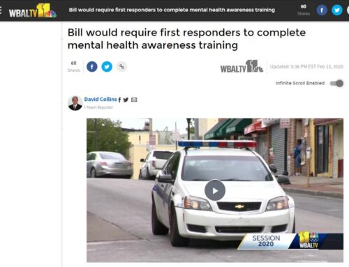 Bill would require first responders to complete mental health awareness training